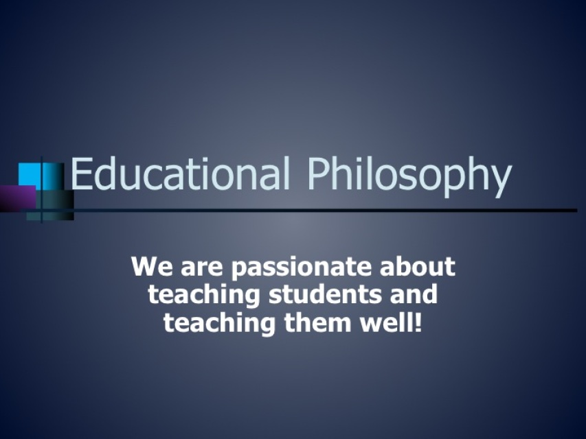 essays education philosophy